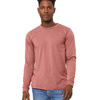 BELLA + CANVAS- 3501 Men's Jersey Long-Sleeve T-Shirt