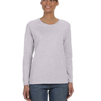 GILDAN- G540L Heavy Cotton™ Ladies' 5.3 oz. Missy Fit Long-Sleeve T-Shirt