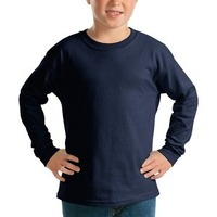 GILDAN 2400B- Youth Ultra Cotton ® Long Sleeve T Shirt