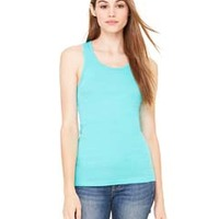 BELLA + CANVAS- 8770 Ladies' Sheer Mini Rib Racerback Tank