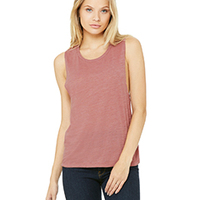 BELLA + CANVAS- B8803 Ladies' Flowy Scoop Muscle Tank