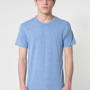 AMERICAN APPAREL-TR401 Tri-Blend Track Shirt Thumbnail
