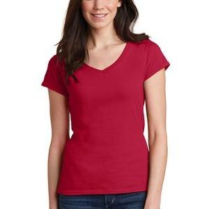 GILDAN- 64VOOL Softstyle ® Junior Fit V Neck Thumbnail