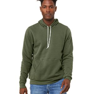 BELLA + CANVAS 3719 Unisex Poly-Cotton Fleece Pullover Hoodie Thumbnail