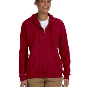 GILDAN- G186FL Heavy Blend™ Ladies' 8 oz., 50/50 Full-Zip Hood Thumbnail