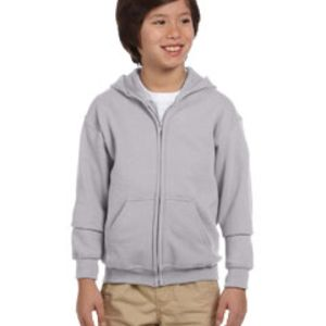 GILDAN- G186B Heavy Blend™ Youth 8 oz., 50/50 Full-Zip Hood Thumbnail