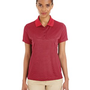 Ladies' Express Microstripe Performance Piqué Polo Thumbnail