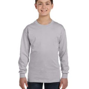 GILDAN- G540 Heavy Cotton™ Youth 5.3 oz. Long-Sleeve T-Shirt Thumbnail