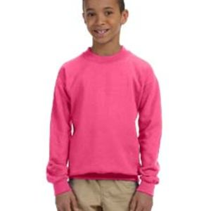 GILDAN G180B- Heavy Blend™ Youth 8 oz., 50/50 Fleece Crew Thumbnail