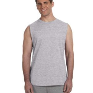 GILDAN Adult Ultra Cotton® Sleeveless T-Shirt Thumbnail